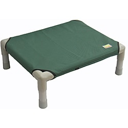 Go Pet Club 32-Inch Green Color Pet Cot