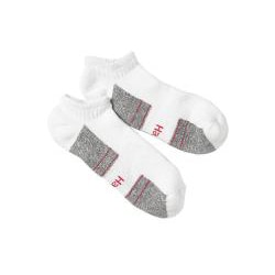 Hanes Men's White Comfort Stretch No Show Socks (Pack of 4)