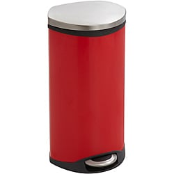 Safco Plastic Hands-free Step-on 7.5-gallon Medical Trash Receptacle