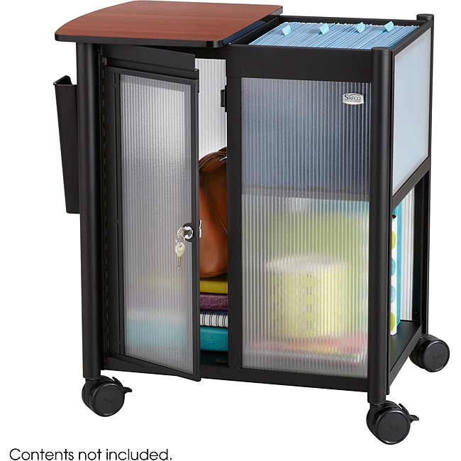 Safco Impromptu Letter-size Personal Mobile Storage Center with Hanging File