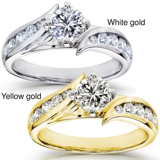 14k Gold 1ct TDW Diamond Engagement Ring (H-I, I1-I2)