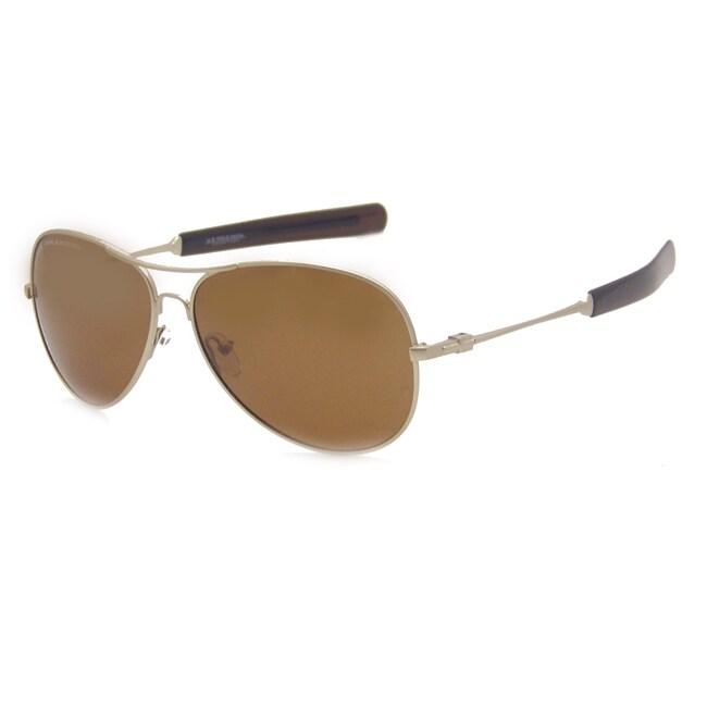 US Polo Association Men's 'Lexington' Polarized Aviator Sunglasses