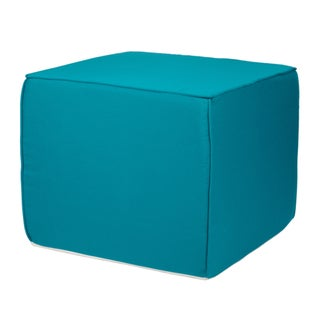 Brooklyn Sunbrella Indoor/ Outdoor 22-inch Square Ottoman-Bright Colors
