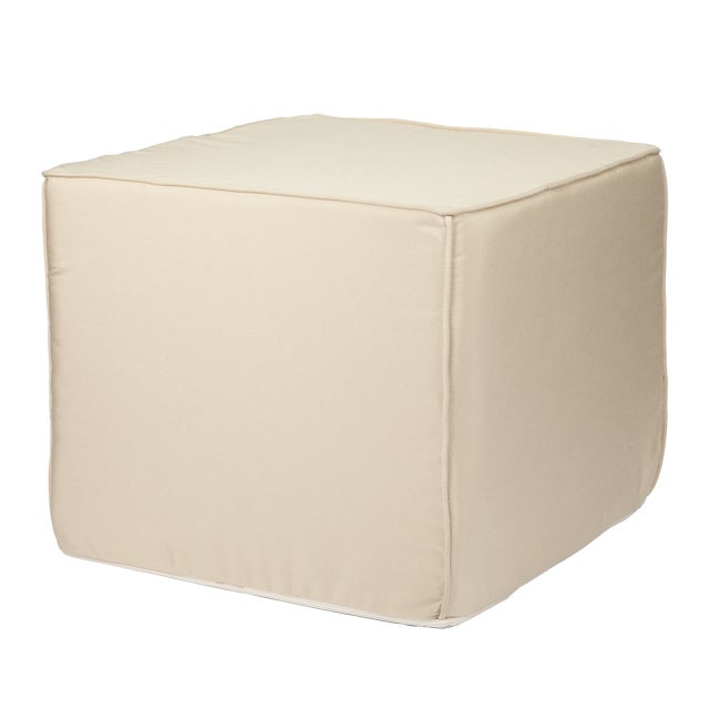 Brooklyn 22-Inch Square Indoor/ Outdoor Ottoman-Traditional Colors at Sears.com