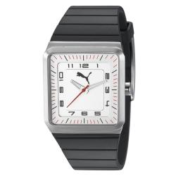 Puma Men's PU102511004 'Destination' Silver Watch