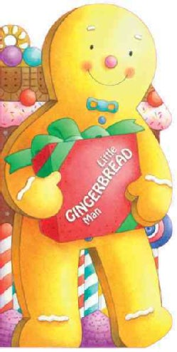 Little Gingerbread Man (Board book)