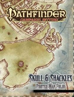 Skull & Shackles Poster Map Folio (Poster)