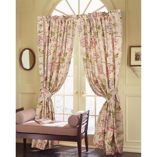 Rose Tree 'Coventry' Curtain Panel Pair with Tiebacks