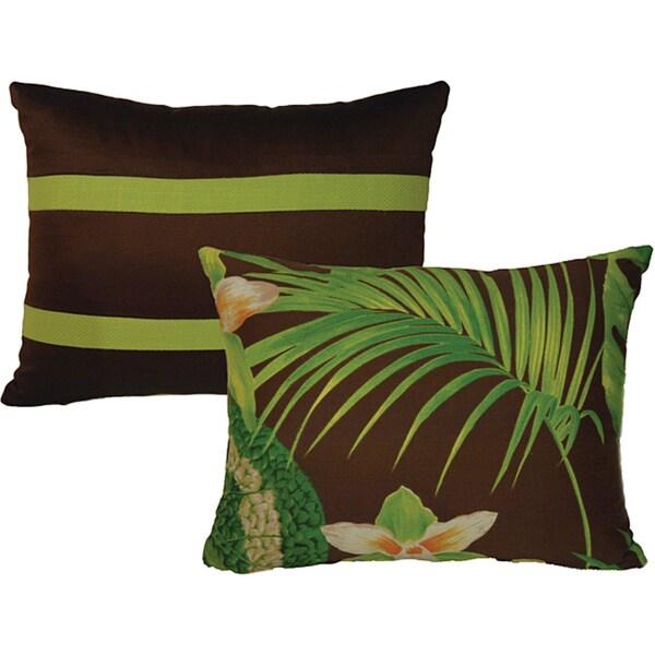 Rain Forest Breakfast Pillows (Set of 2)