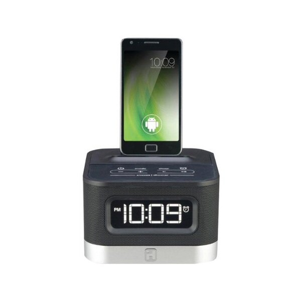 iHome iC50BY Alarm Clock Speaker Dock for Android