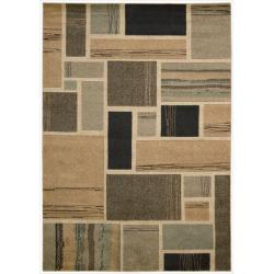 Nourison Vogue Multicolor Geometric Rug ( 5'3 x 7' )