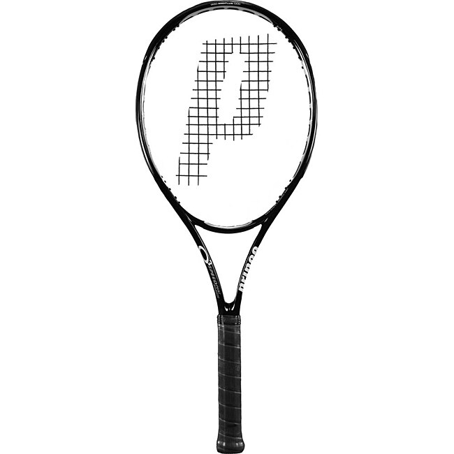 Prince Black Mid-tension 03 SpeedPort Tennis Racquet with DuraPro Grip