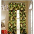 Rain Forest Curtain Panel Pair with Tiebacks