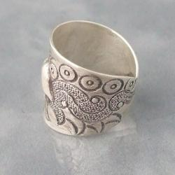 Karen Hill Tribe Jungle Elephant Ring (Thailand)