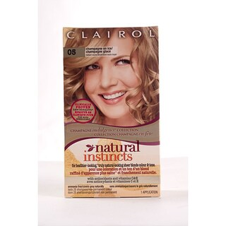 Clairol Natural Instincts #05 Champagne on Ice Hair Color (Pack of 4)