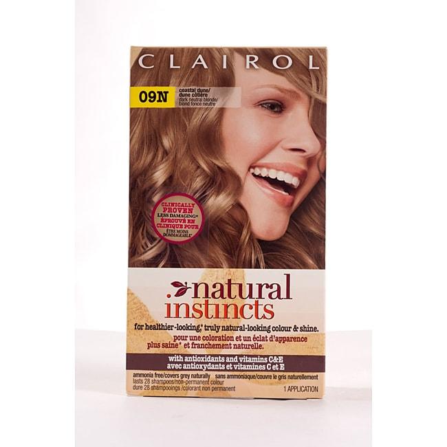 Clairol Natural Instincts #09N Dark Neutral Blonde (Pack of 4)