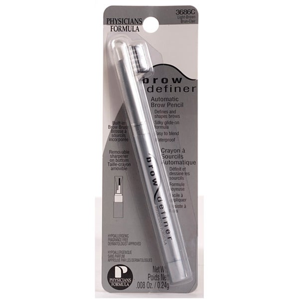 Physician's Formula Light Brown Brow Definer (Pack of 4)