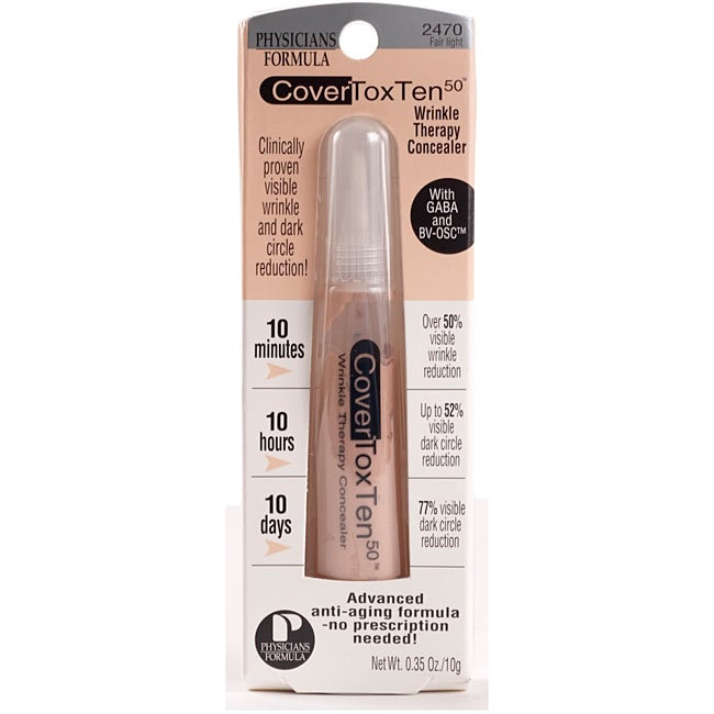 Physicians Formula Fair Light Cover Concealer (Pack of 4)