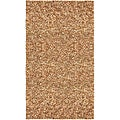 Hand-tied Pelle Tan Leather Shag Rug (4' x 6')