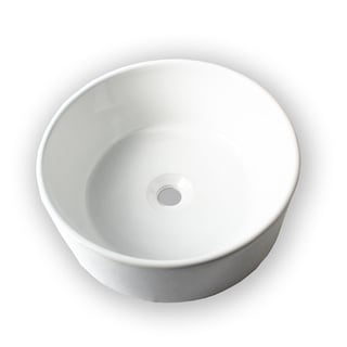Canon Ceramic Vessel White Bathroom Sink