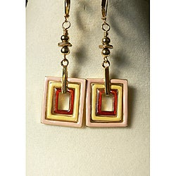 Goldtone 'Jada' Earrings