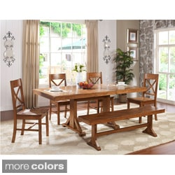 Solid Wood 6-piece Dining Set