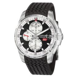 Chopard Men's 'Miglia Gran Turismo' Black Rubber Strap Watch