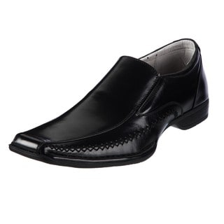 Steve Madden Men's 'Trace' Black Loafers