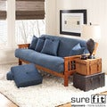 Sure Fit Cotton Denim Futon Cover