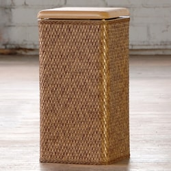 Carter Cappuccino Laundry Hamper