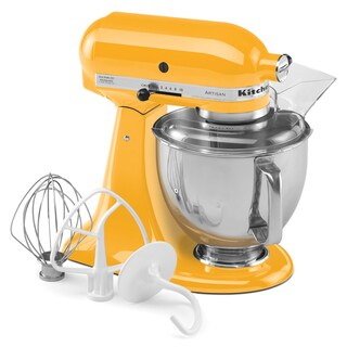 KitchenAid RRK150YP Yellow Artisan Series 5-quart Stand Mixer (Refurbished)