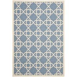 Safavieh Blue/Beige Indoor/Outdoor R