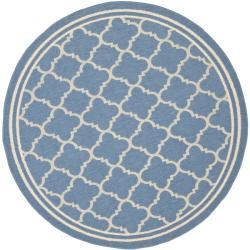 Safavieh Blue/Beige Indoor/Outdoor A