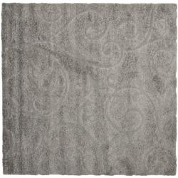 Safavieh Ultimate Dark Grey/ Beige Shag Rug (3'3 x 5'3)