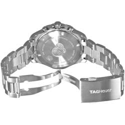 Tag Heuer Men's 'Aquaracer Quartz Chronograph' Silver Dial Watch