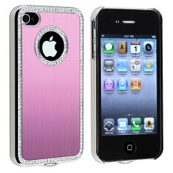 Bling Luxury Light Pink Snap-on Case for Apple iPhone 4/ 4S