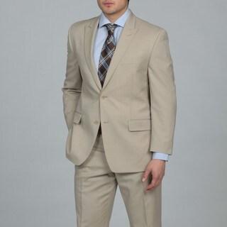 MICHAEL Michael Kors Men's Sand Two-button Wool Suit