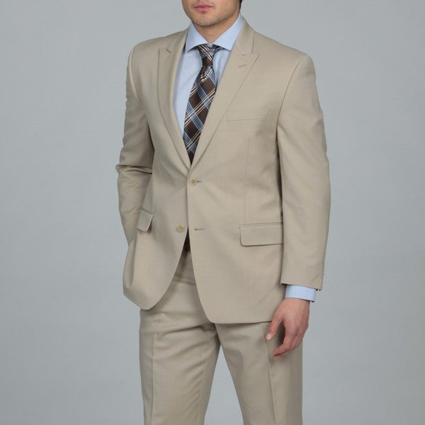 MICHAEL Michael Kors Men's Sand Two-button Wool Suit