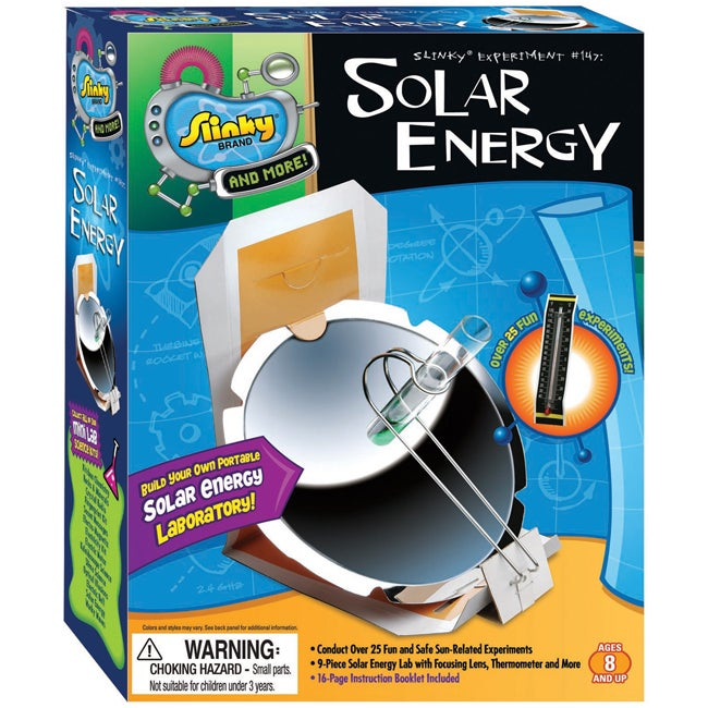 Poof-Slinky Secret Messages Solar Energy Science Kit