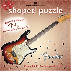 Paper House 'Fender Stratocaster' Jigsaw Puzzle (500-piece)