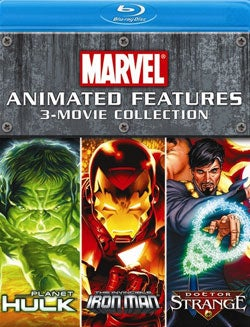 Marvel Animated Features 3-Movie Collection (Blu-ray Disc)