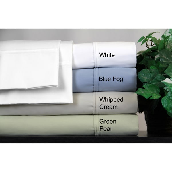 400 Thread Count Wrinkle Free Deep Pocket Cotton 6 Piece Sheet Set