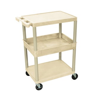 Luxor 3-shelf Heavy Duty Utility Cart