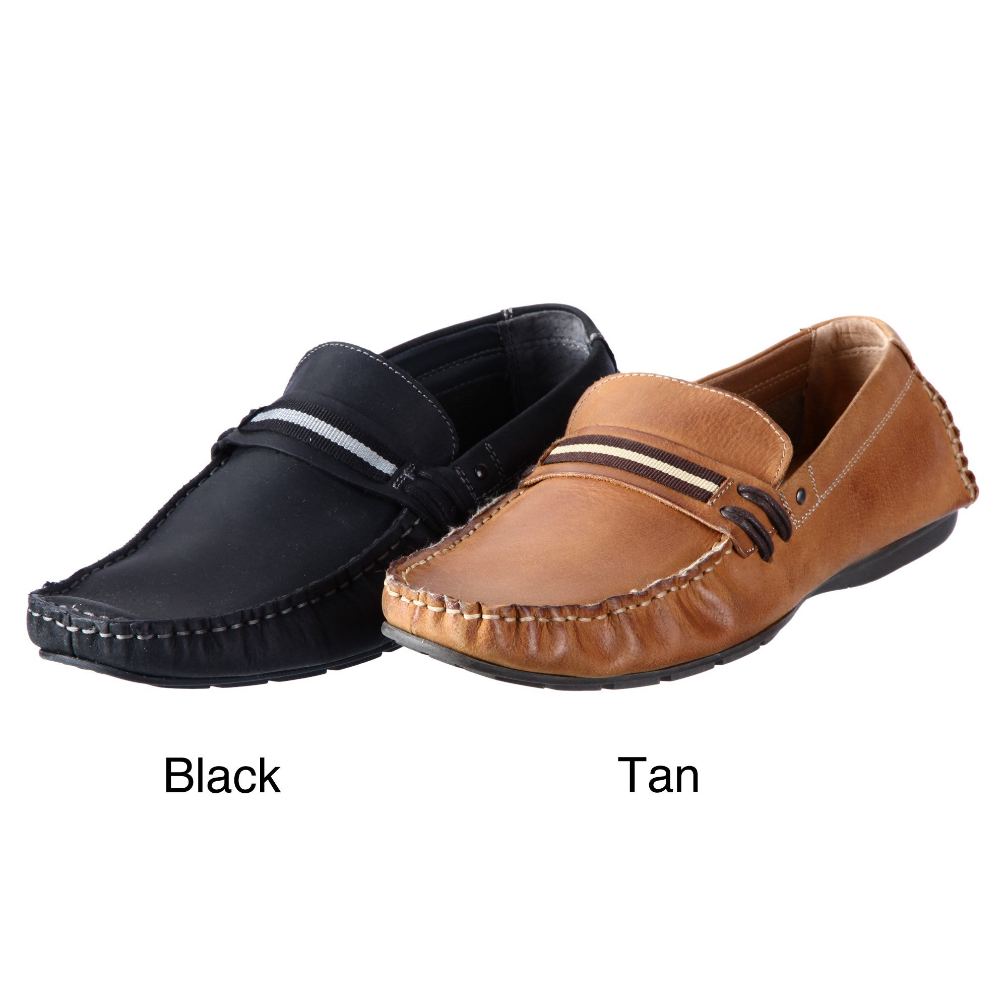 Steve Madden Men's 'Grab' Slip-on Driver Shoes - Overstock  Shopping