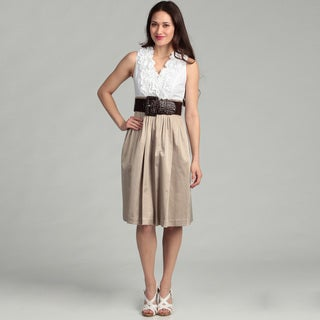 Jessica Howard Women's Ruffled Dress