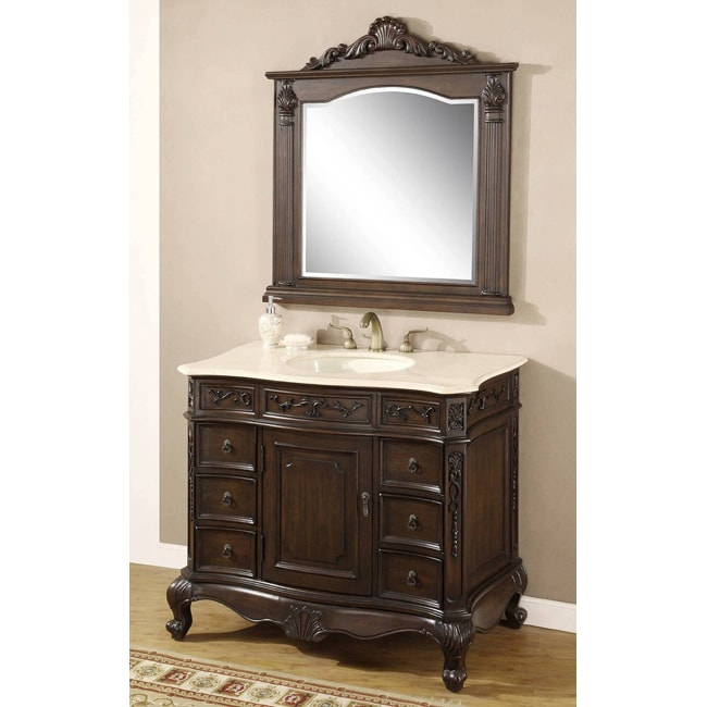 ica furniture maranda bathroom vanity and mirror 14100951