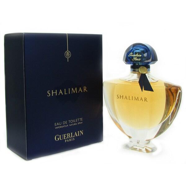 Guerlain Shalimar Women's 3-ounce Eau de Toilette Spray