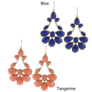 Morgan Ashleigh Faceted Chandelier Earrings