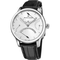 Maurice Lacroix Men's MP6518-SS001-130 'Master Piece' Double Retrograde Automatic Watch