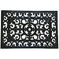 Rubber-Cal 'Blooming Flowers' Rubber Cast Iron Door Mat (16 x 24)